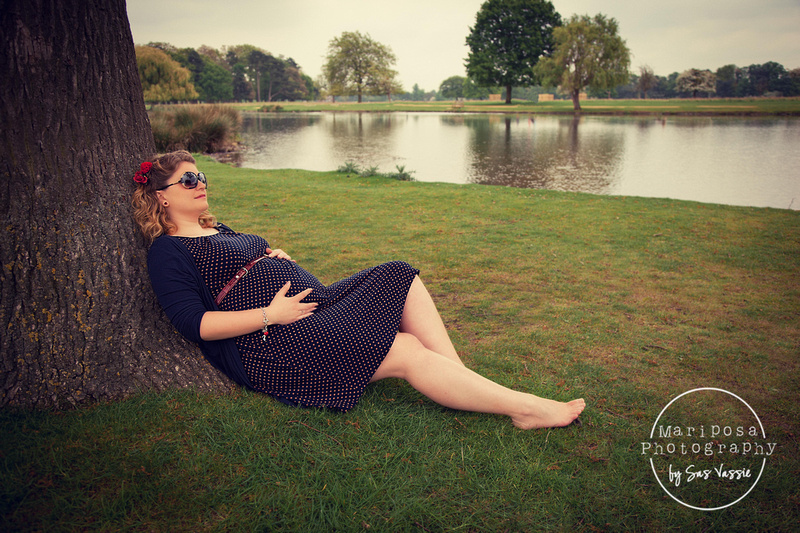 Rosie and Daren bump shoot - Hampton Court